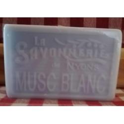 SAVON MUSC BLANC 100 GR